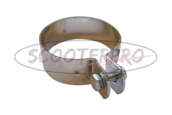 exhaust clamp Zundapp 70mm chrome