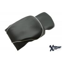 seat cover Peugeot Django 2 pcs carbon