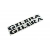sticker set Gilera 2pcs black